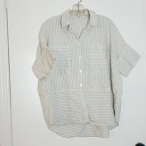 Oversized Medium Button Down Madewell top